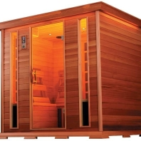 Five to Six Person Luxury Sauna